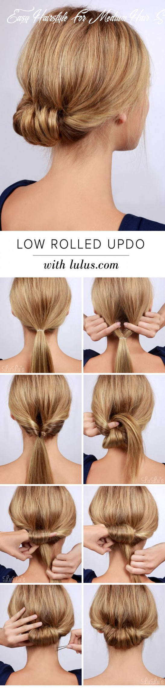 BEST HAIRSTYLES IDEAS: Easy Hairstyle For Long Hair Step By Step