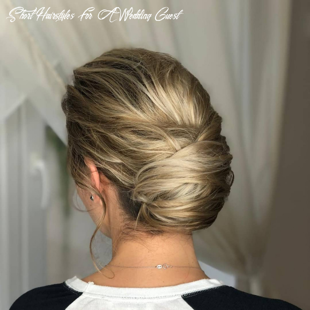 BEST HAIRSTYLES IDEAS: Wedding Guest Hairstyle For Short Hair
