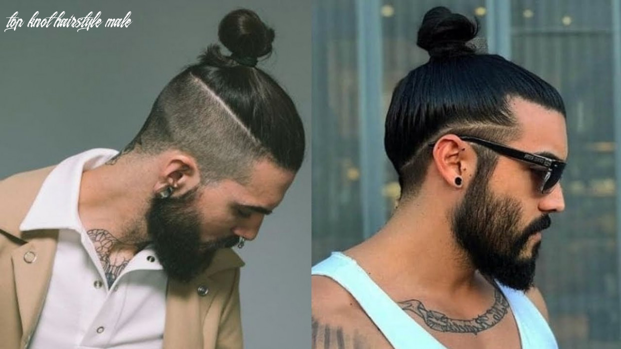 Best man bun hairstyles for men 12 | top knot hairstyles for men