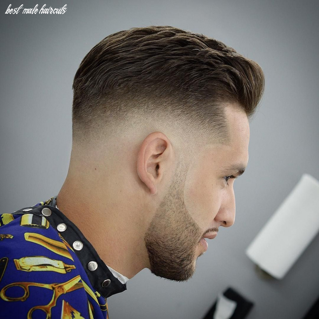 Best mens haircuts fade haircut today best male haircuts