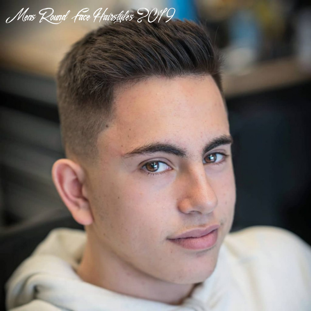 Best Mens Haircuts For Round Faces 10 - Haircut Today