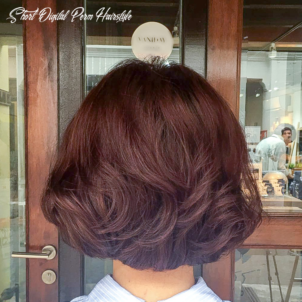Best perms for short hair in singapore short digital perm hairstyle