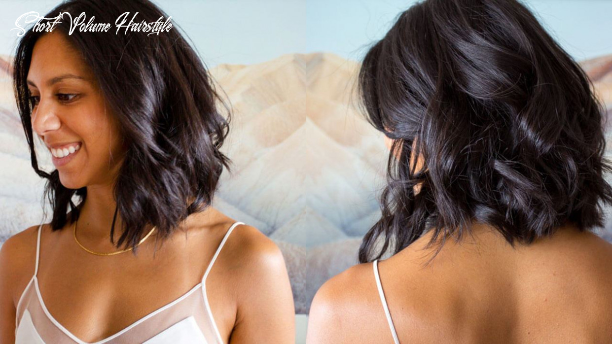 Best short bob hairstyle ideas: how to style a lob with volume short volume hairstyle