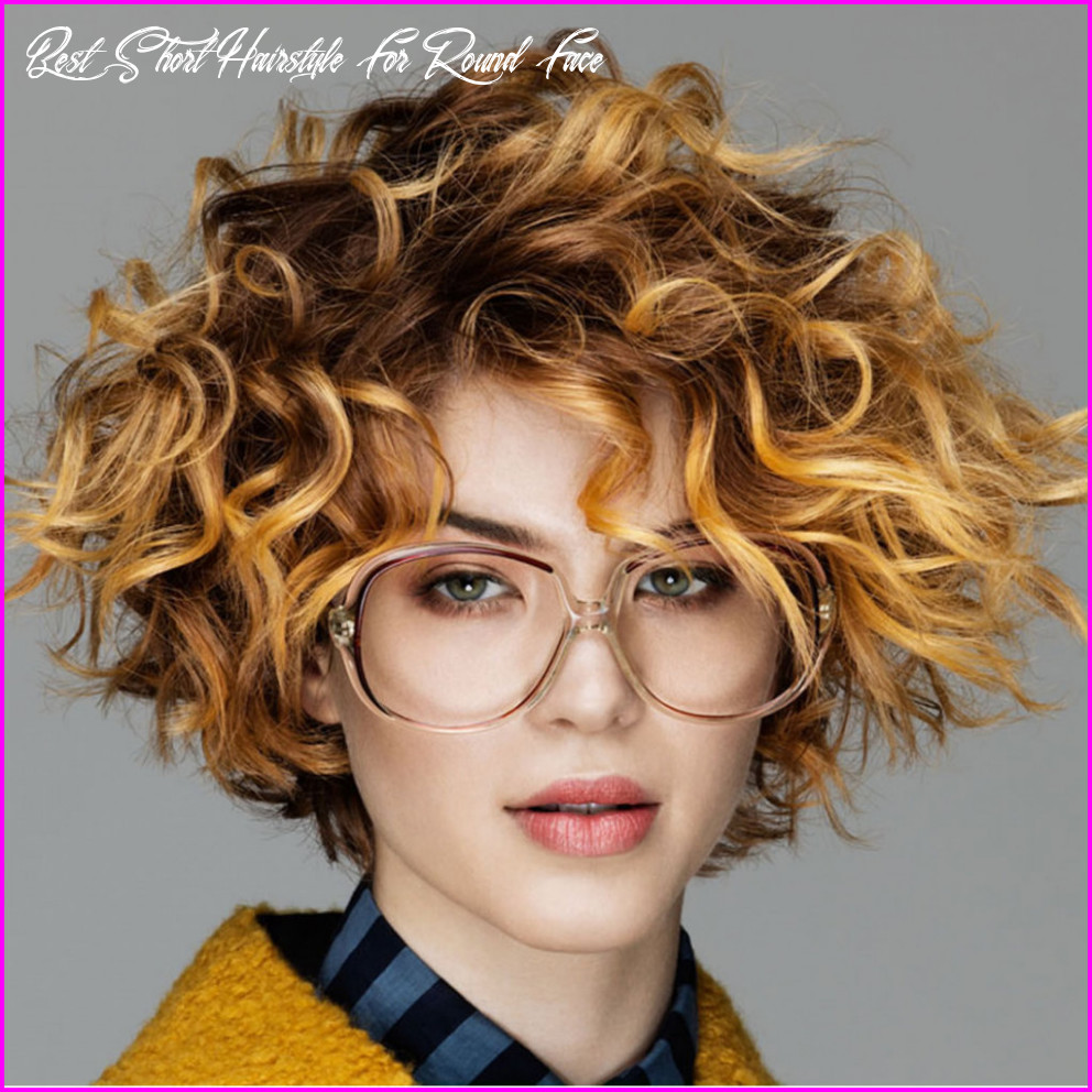 Best Short Haircuts for Curly Hair & Round Face 10 - Best Short ...