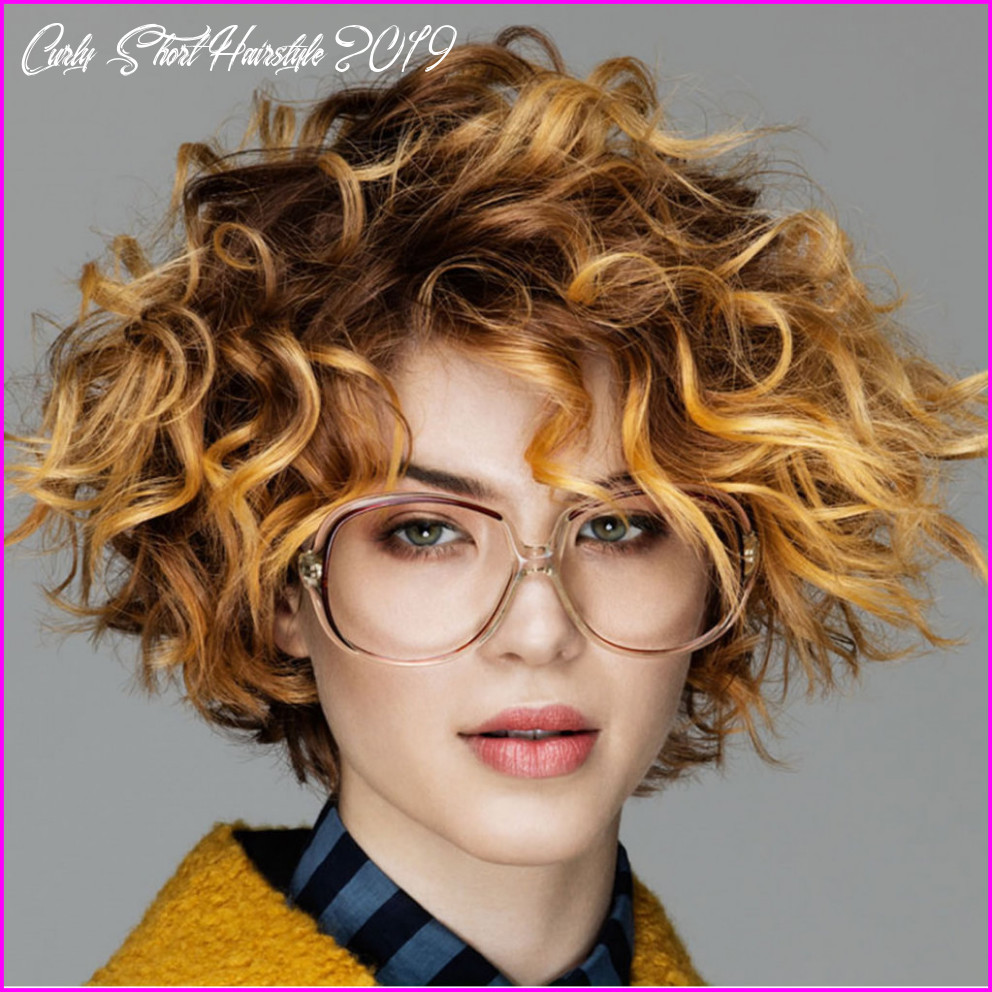 Best short haircuts for curly hair & round face 11 best short