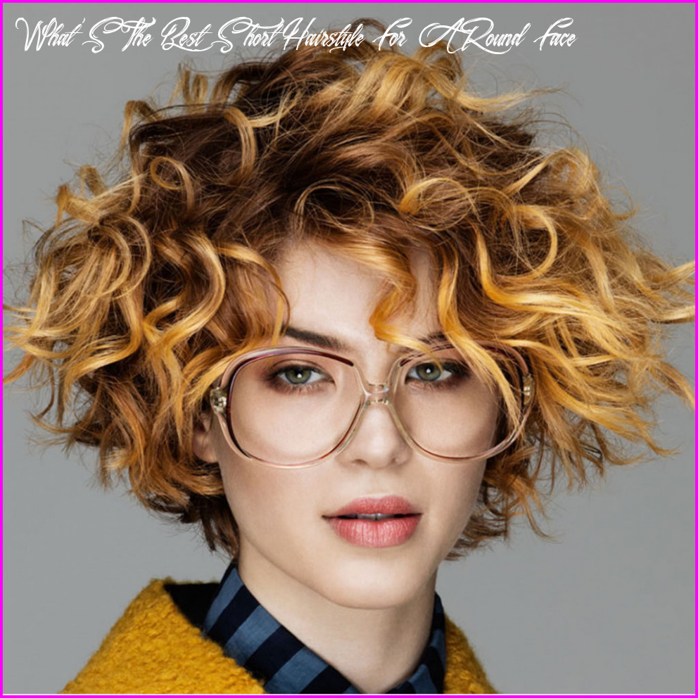 Best short haircuts for curly hair & round face 12 best short
