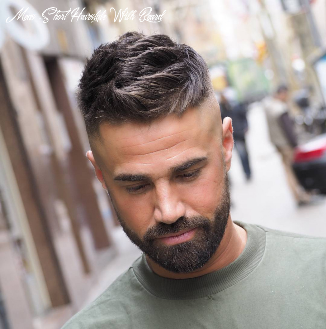 Best short haircuts for men with beards haircut today mens short hairstyle with beard
