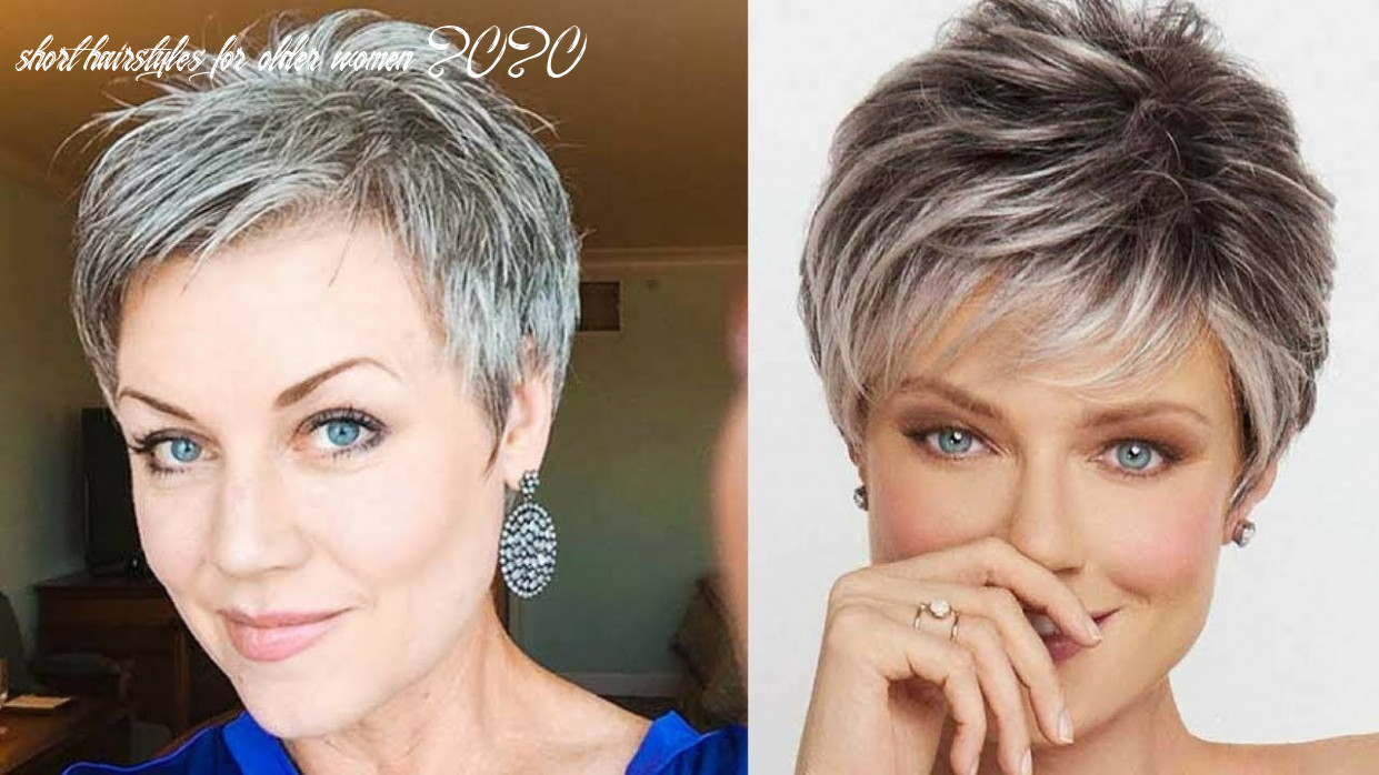 Best short haircuts for older women in 8 short hairstyles for older women 2020