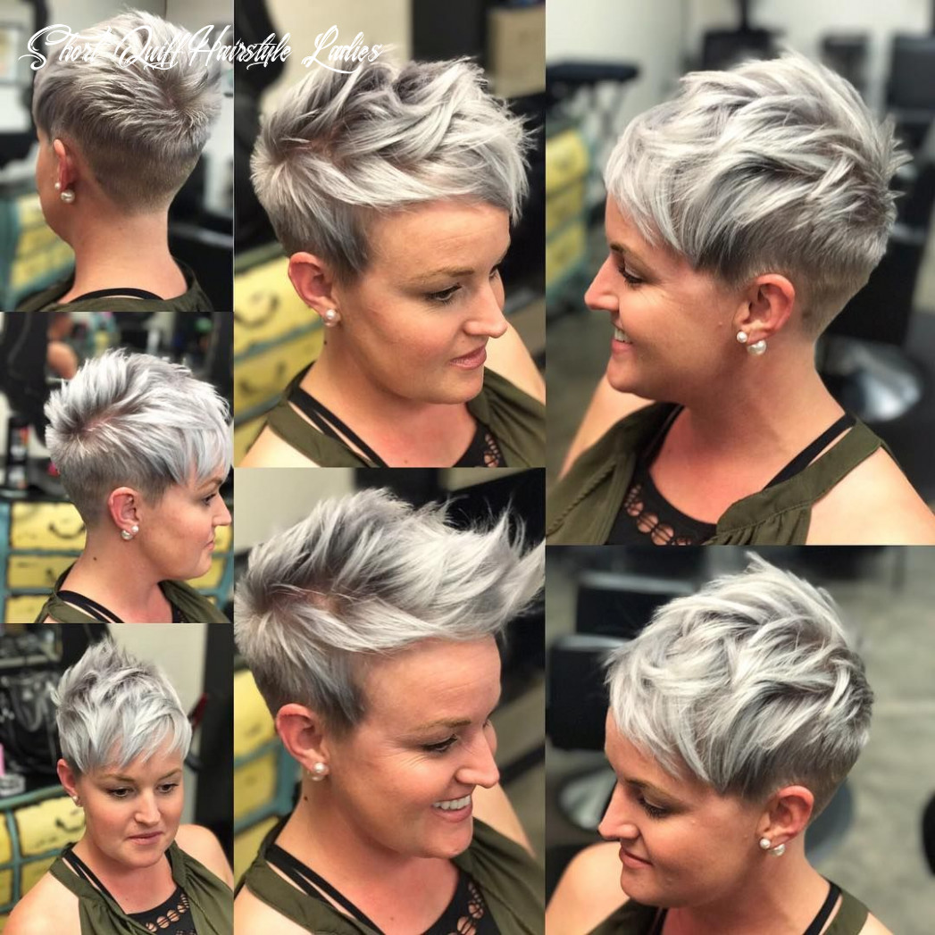 Best short hairstyles for ladies » hairstyles pictures short quiff hairstyle ladies