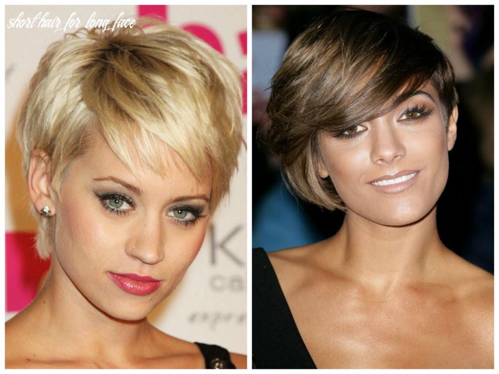 Best short hairstyles for long faces short hair for long face