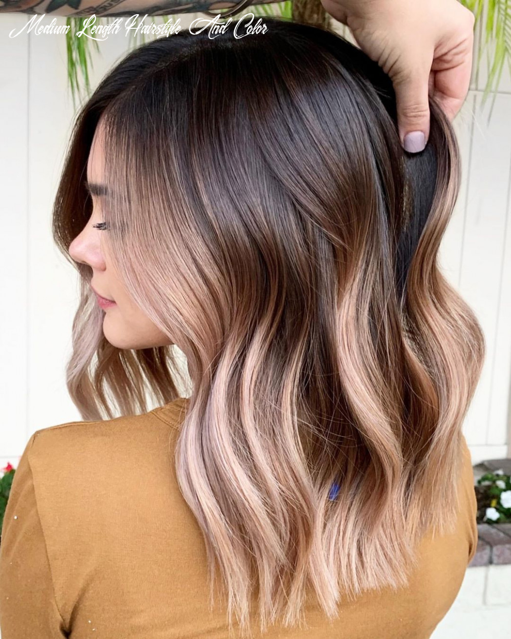 Best short ﹠ mediumlength hair color and style ideas for spring