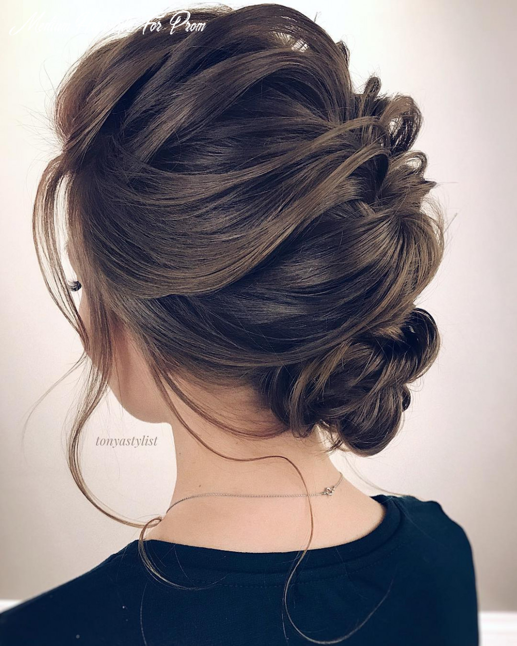 Best updo hairstyles for medium length hair, prom and homecoming