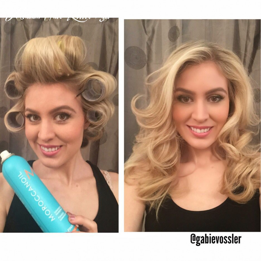 Bighair 11 #blowout with roundbrush and products 11 take large
