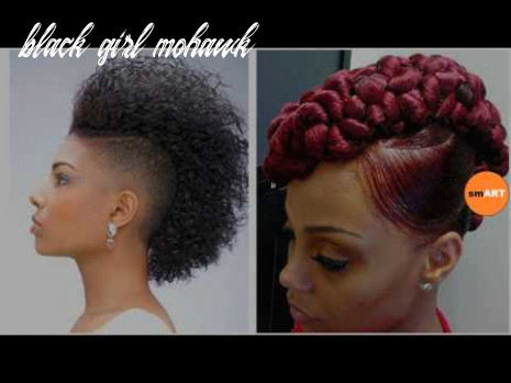 Black girl mohawk hairstyles most gorgeous mohawk hairstyles of nowadays black girl mohawk