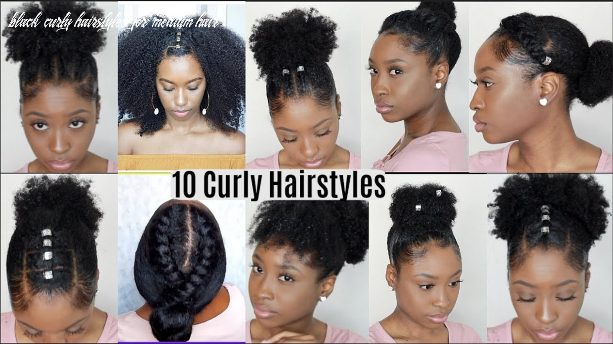 Black hairstyles for natural curly hair black curly hairstyles for medium hair