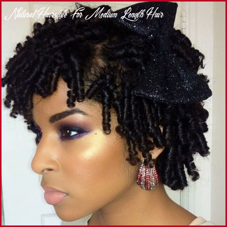 Black natural hairstyles for medium length hair 11 twist for