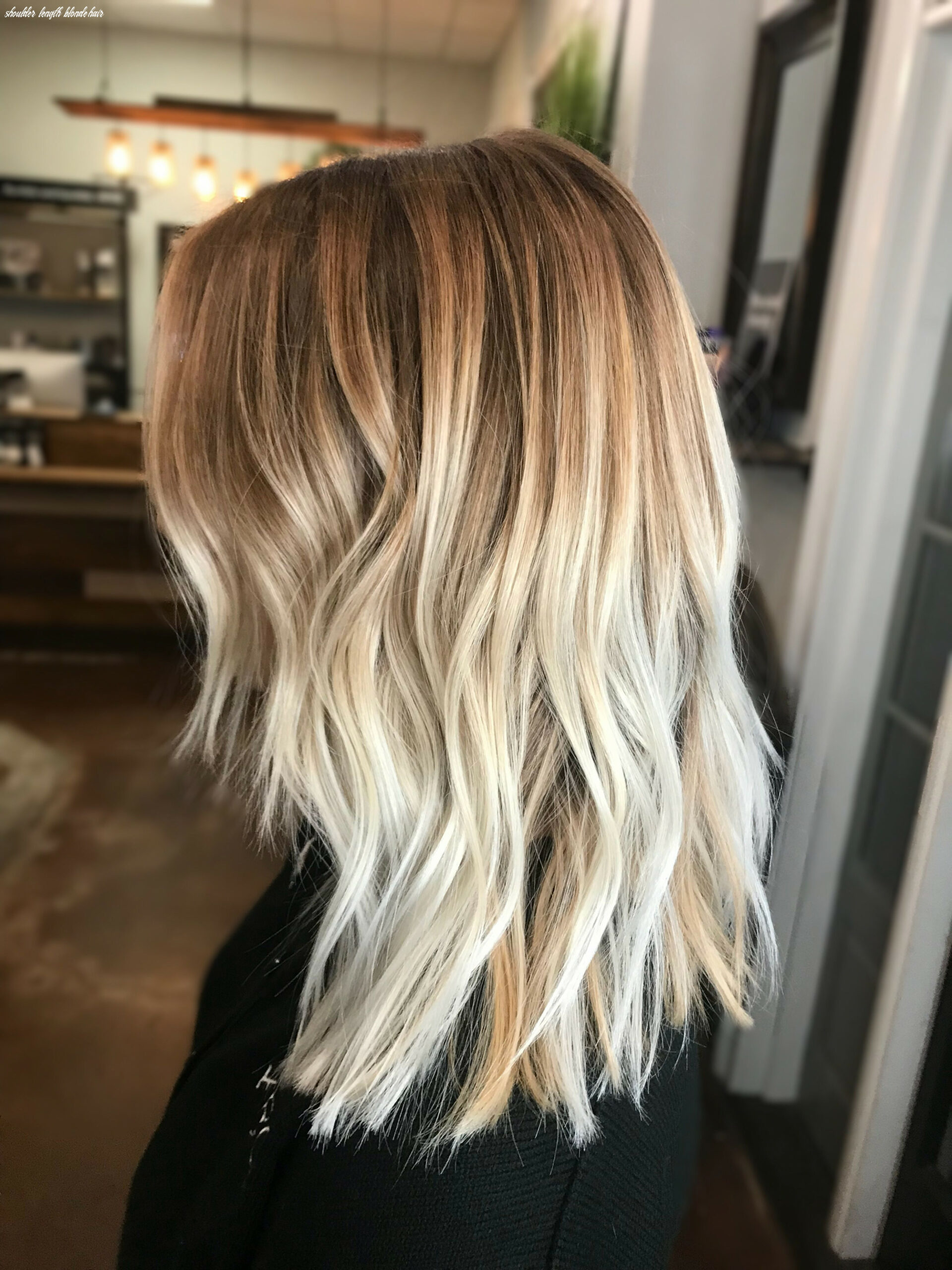 Blonde balayage / blonde highlights / bright blonde hair