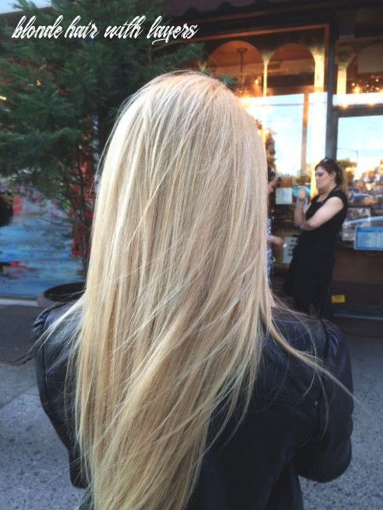 Blonde hair long layers | ecemella blonde hair with layers