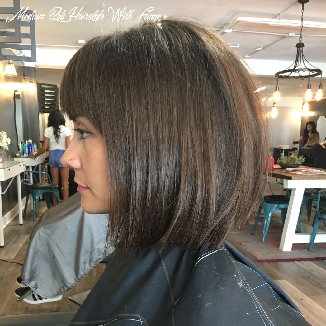 Blunt bob w/ bangs 🖤 (wavy & straight) | bobbed hairstyles with