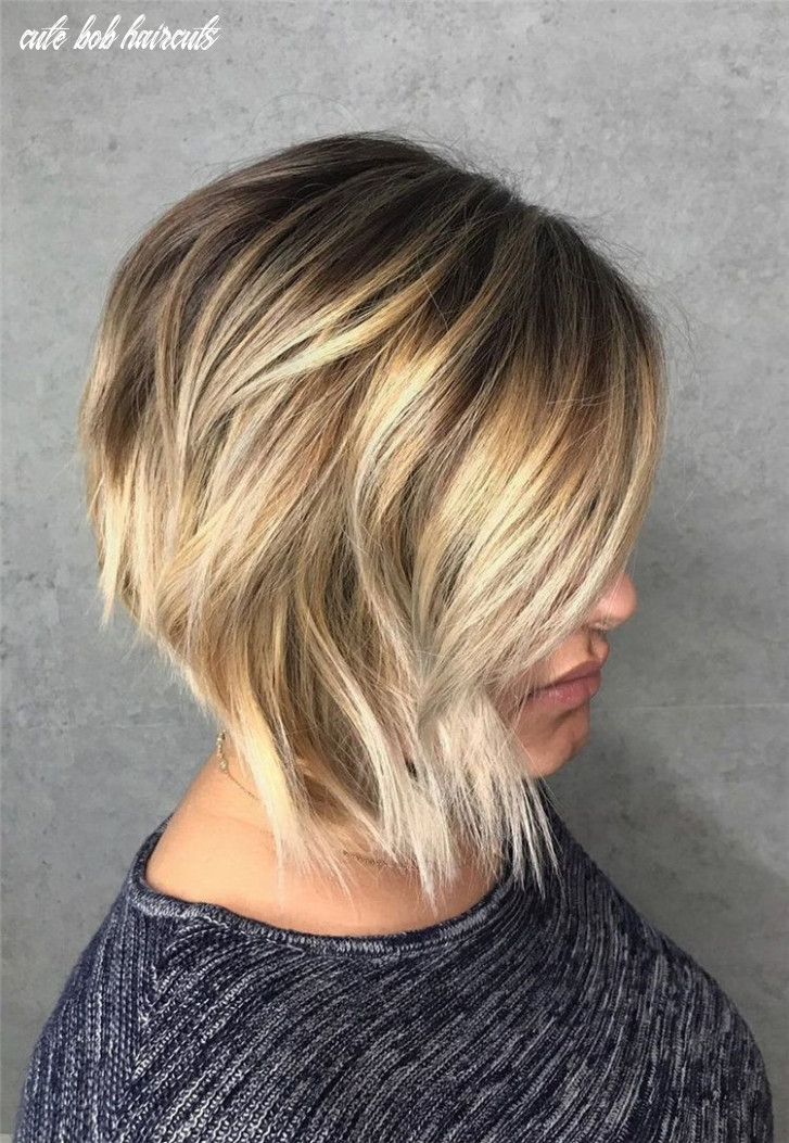 Bob hairstyle inspiration, 10 easy and cute bob hairstyles and