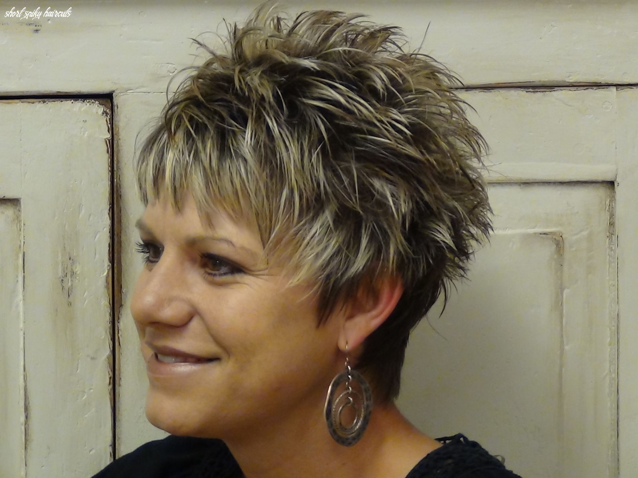 Bold and beautiful short spiky haircuts for women | short spiky