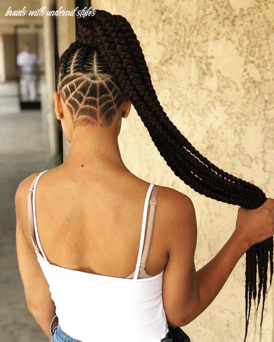 Box braids with shaved sides: 11 stylish ways to rock the look braids with undercut styles