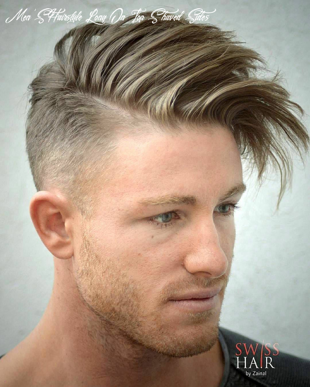 Boy haircut shaved sides long top elegant 12 men s hairstyles to