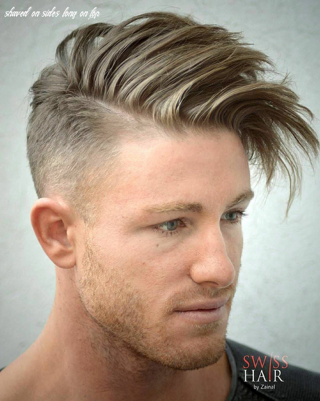 Boy haircut shaved sides long top elegant 9 men s hairstyles to