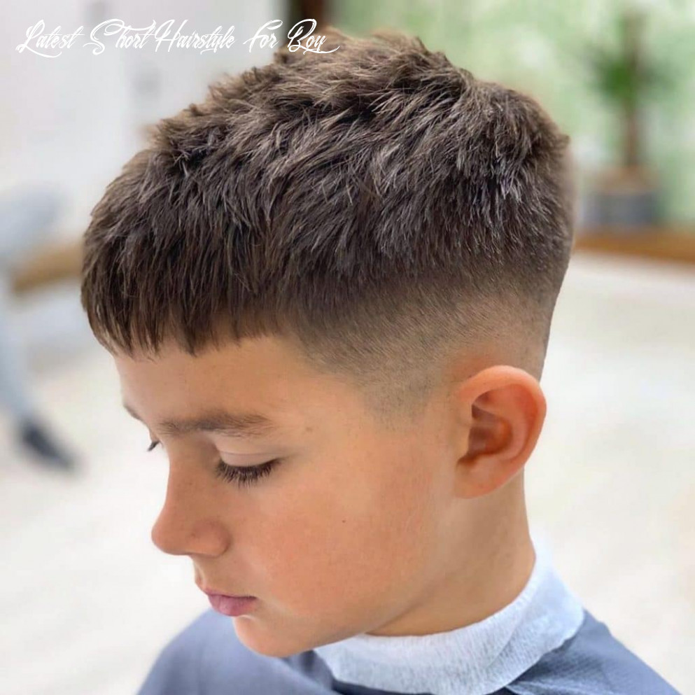Boys haircuts > 12 super cool styles > july 12 update latest short hairstyle for boy