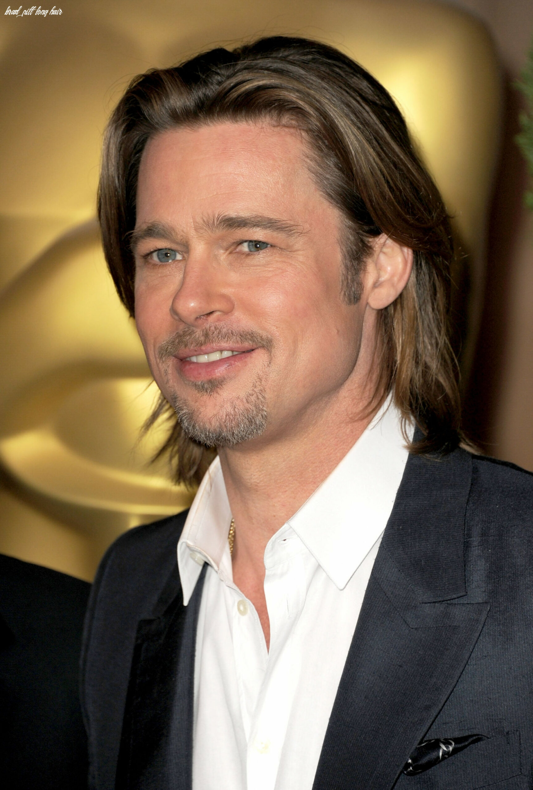 Brad pitt with long hair | brad and george join michelle, viola
