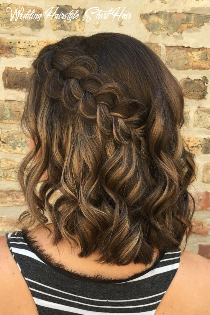 Braids wedding hairstyles for short hair how perfect is this