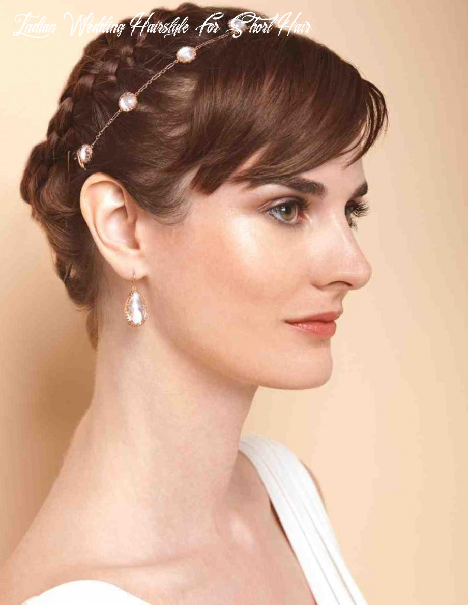 Bridal hairstyles for short hair 10