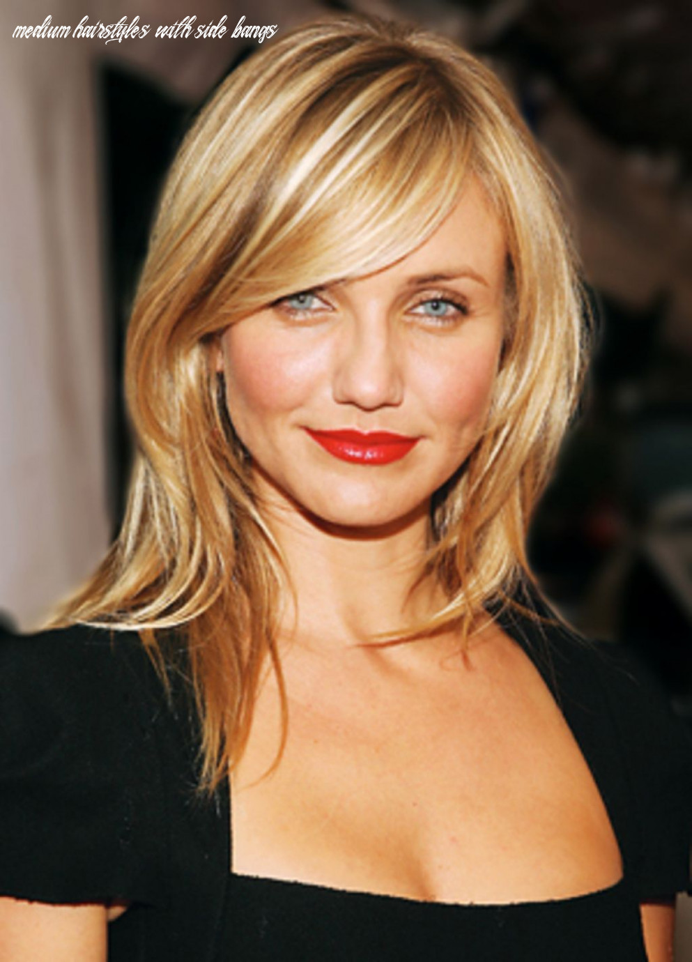 Cameron diaz haircut simple nice look impression , this style is