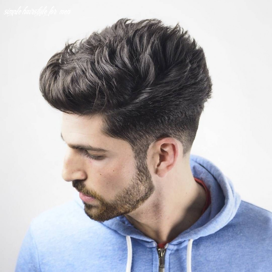 8 Simple Hairstyle For Men - Undercut Hairstyle