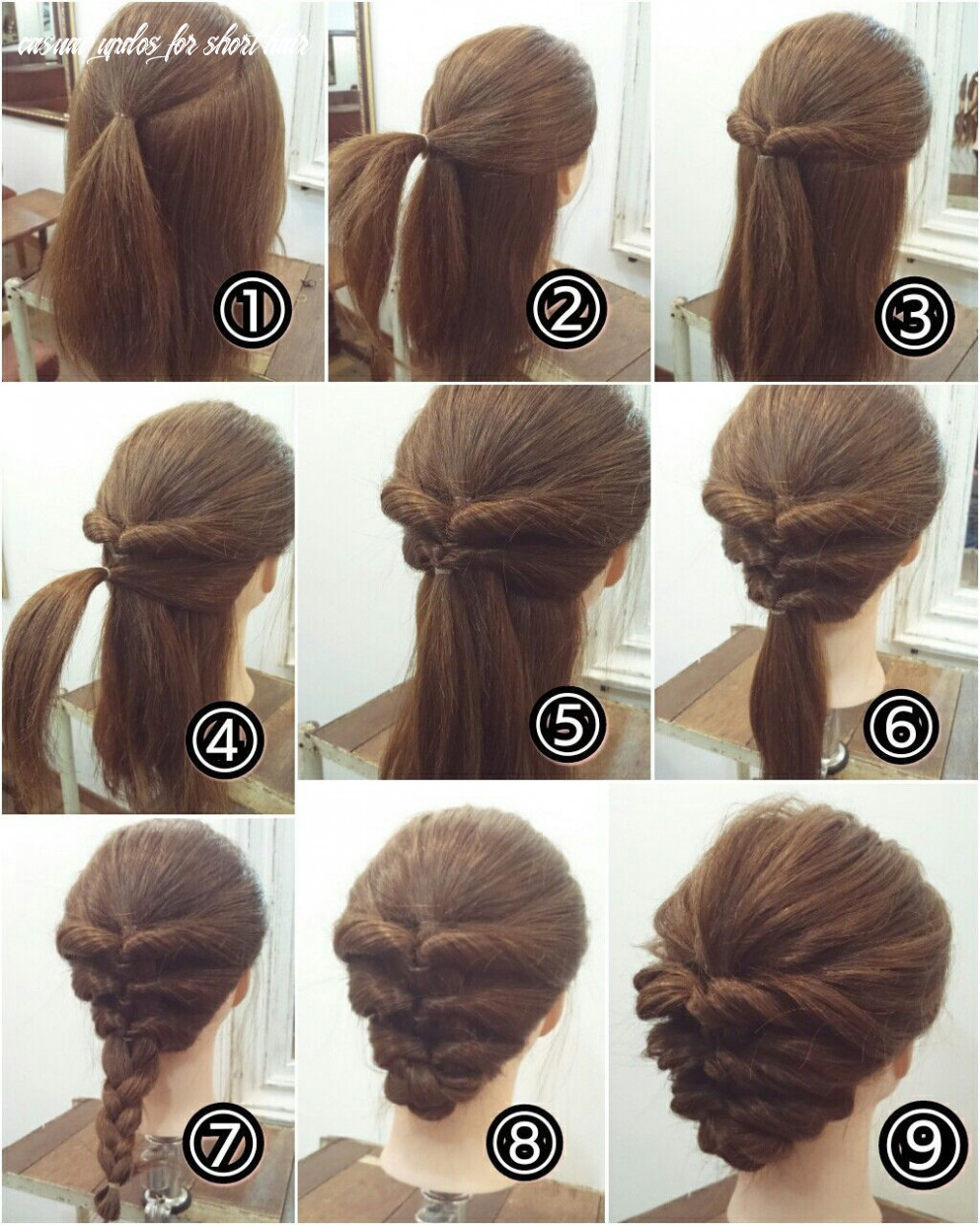 Casual updo hairstyles for long hair best of casual updos for