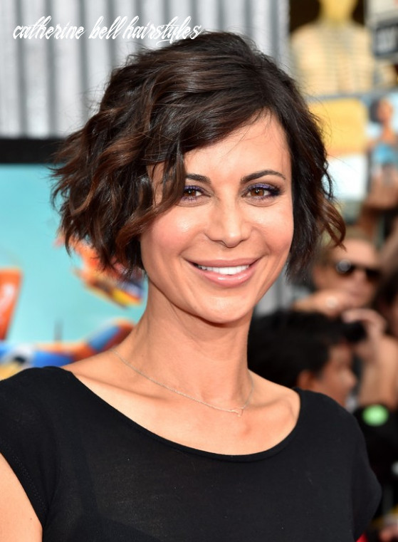 Catherine bell short wavy hairstyle for 12 hairstyles weekly catherine bell hairstyles