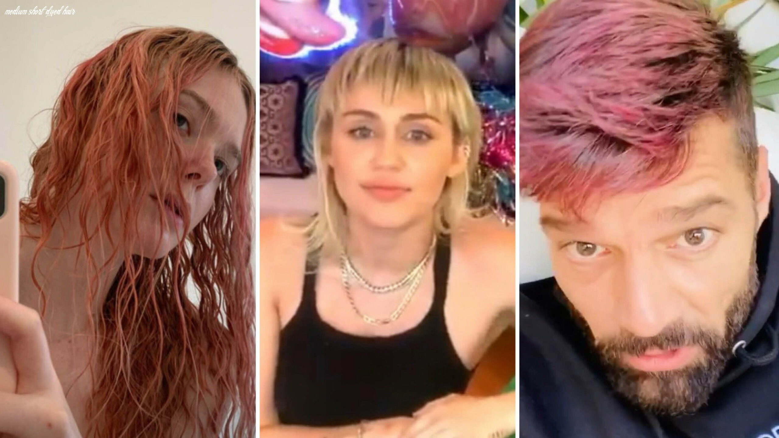 Celebrities are making dramatic hair changes during quarantine