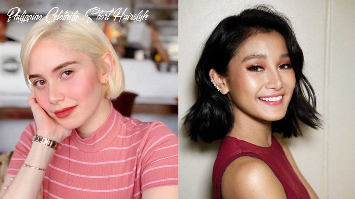 Celebrity and influencer short hair inspiration philippine celebrity short hairstyle