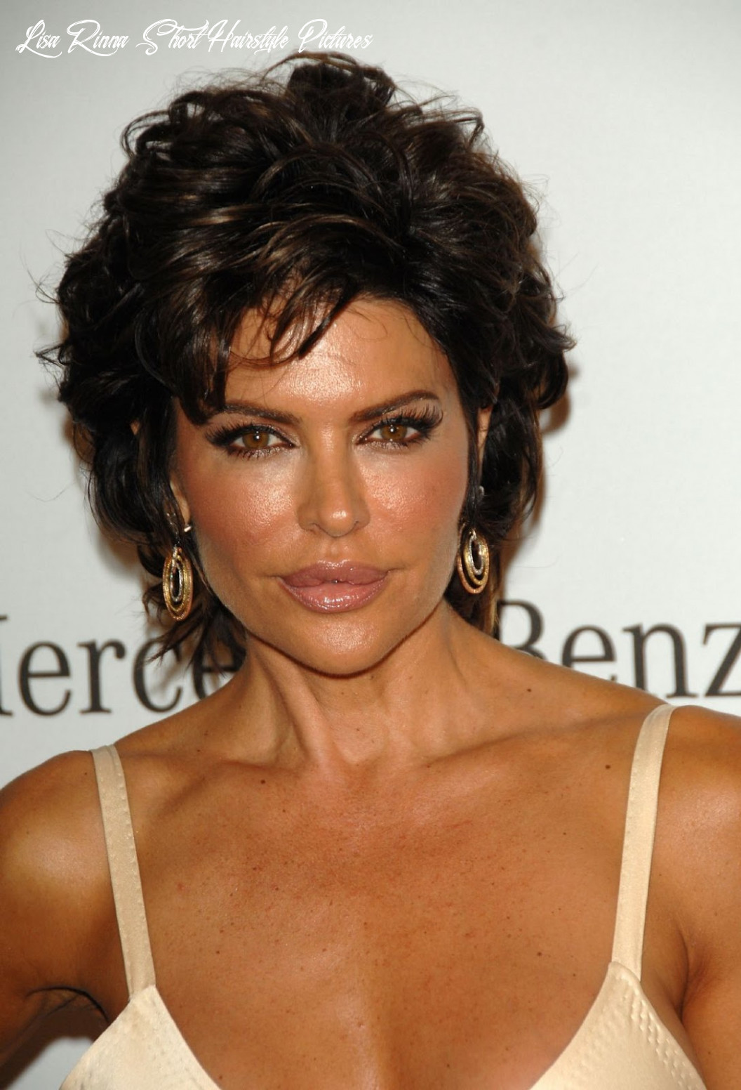 Celebrity hairstyle haircut ideas: lisa rinna short hairstyle