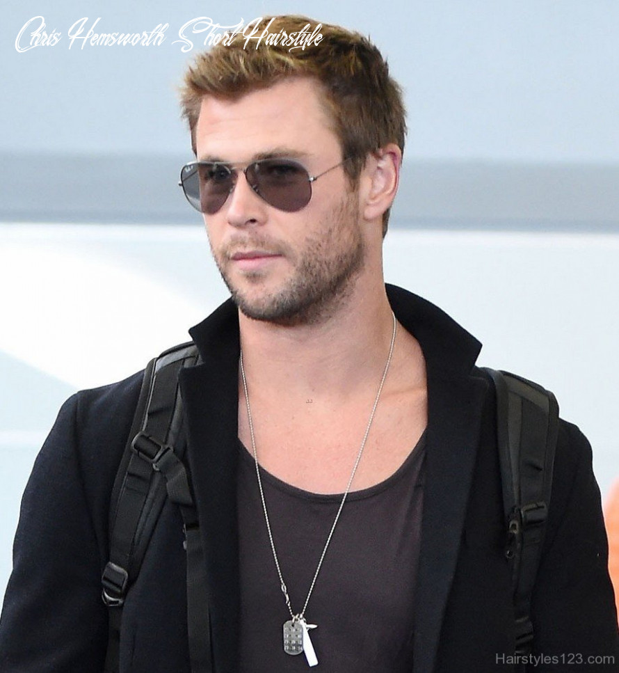 Celebrity hairstyles page 10 chris hemsworth short hairstyle