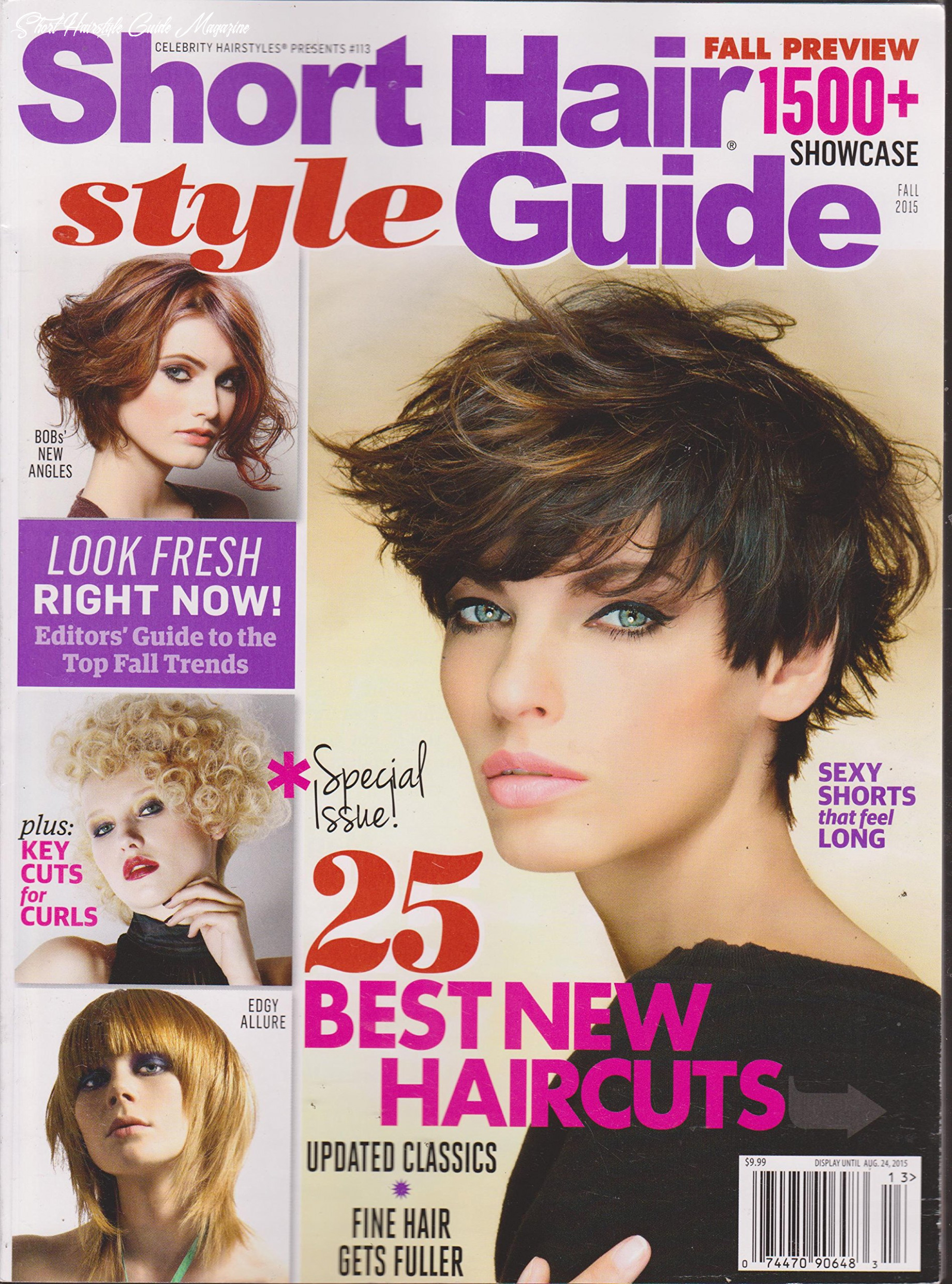 Celebrity hairstyles presents #8 short hair style guide magazine