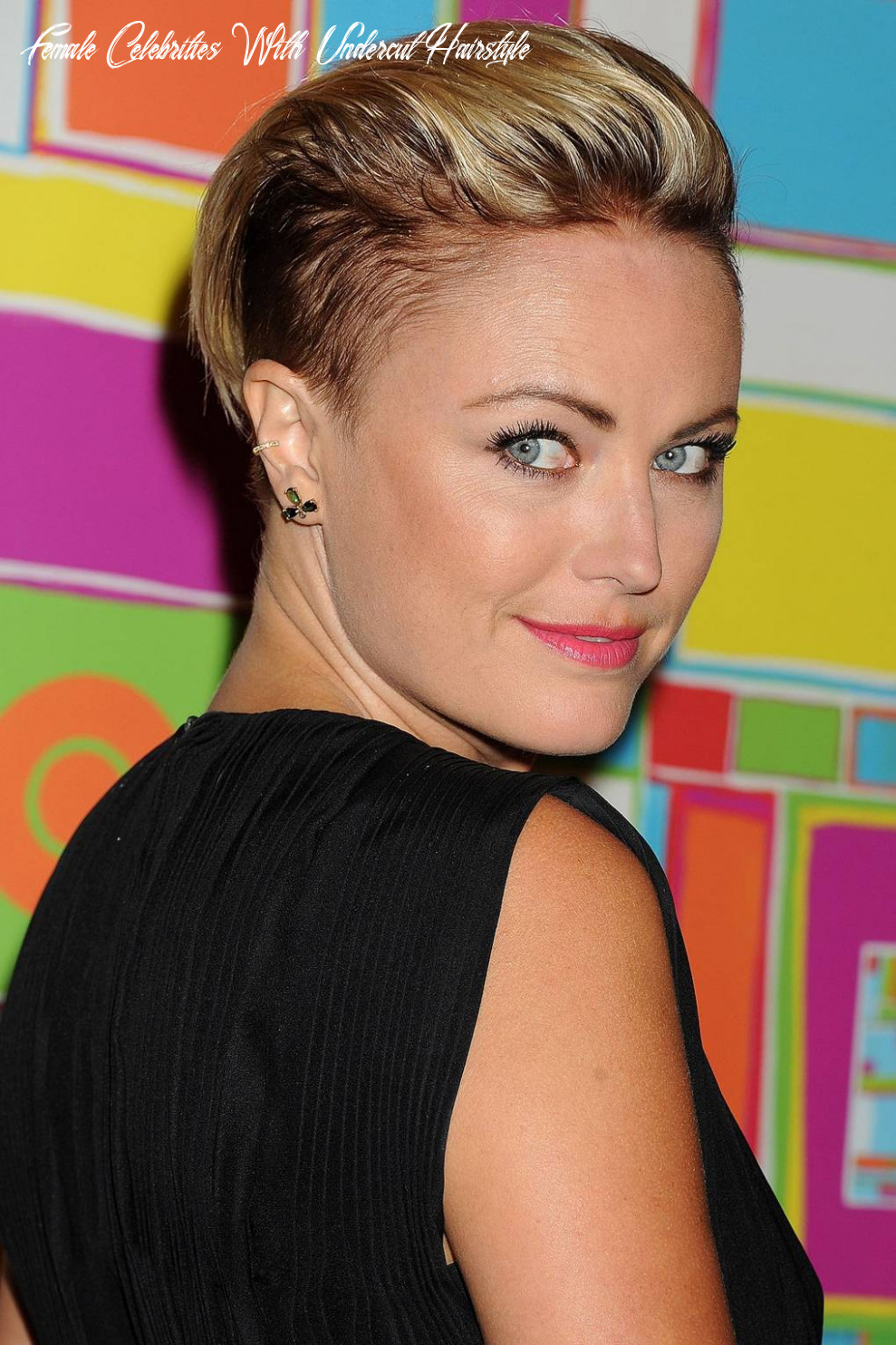 Celebrity undercut hairstyles: photos and inspiration   glamour uk female celebrities with undercut hairstyle