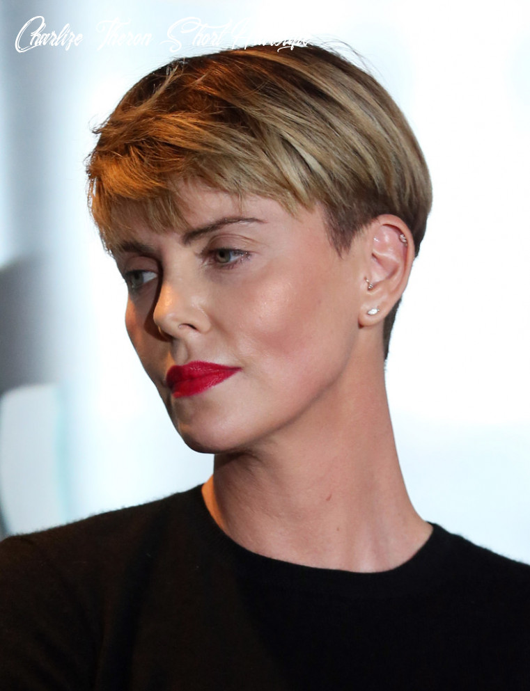 Charlize theron boy cut charlize theron short hairstyles looks