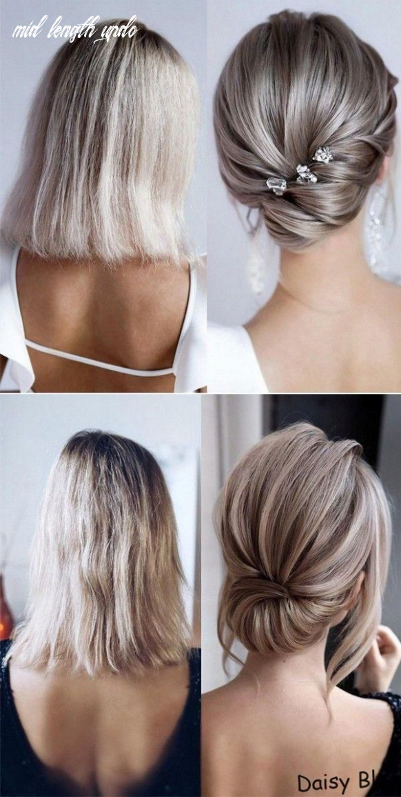 Chic and stylish wedding hairstyles for short hair   short wedding