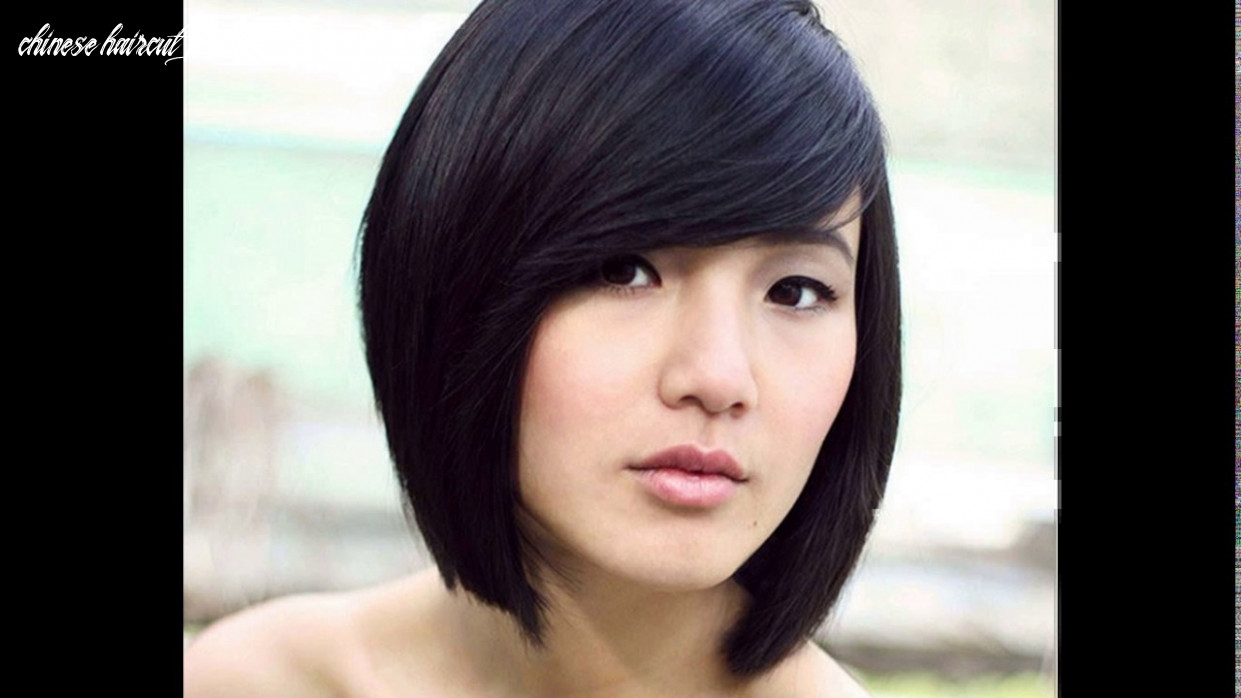 Chinese girl short haircut youtube chinese haircut female