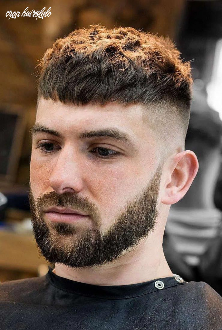 Choosing the best hairstyle for men | crop haircut, thick hair