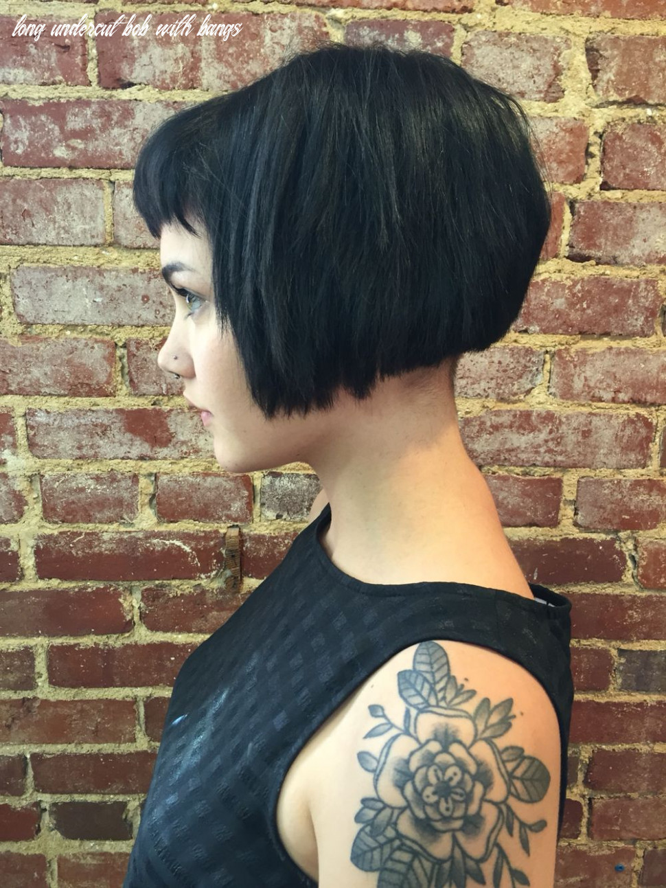 Choppy bob w a lil bitty undercut | super short hair, hair styles