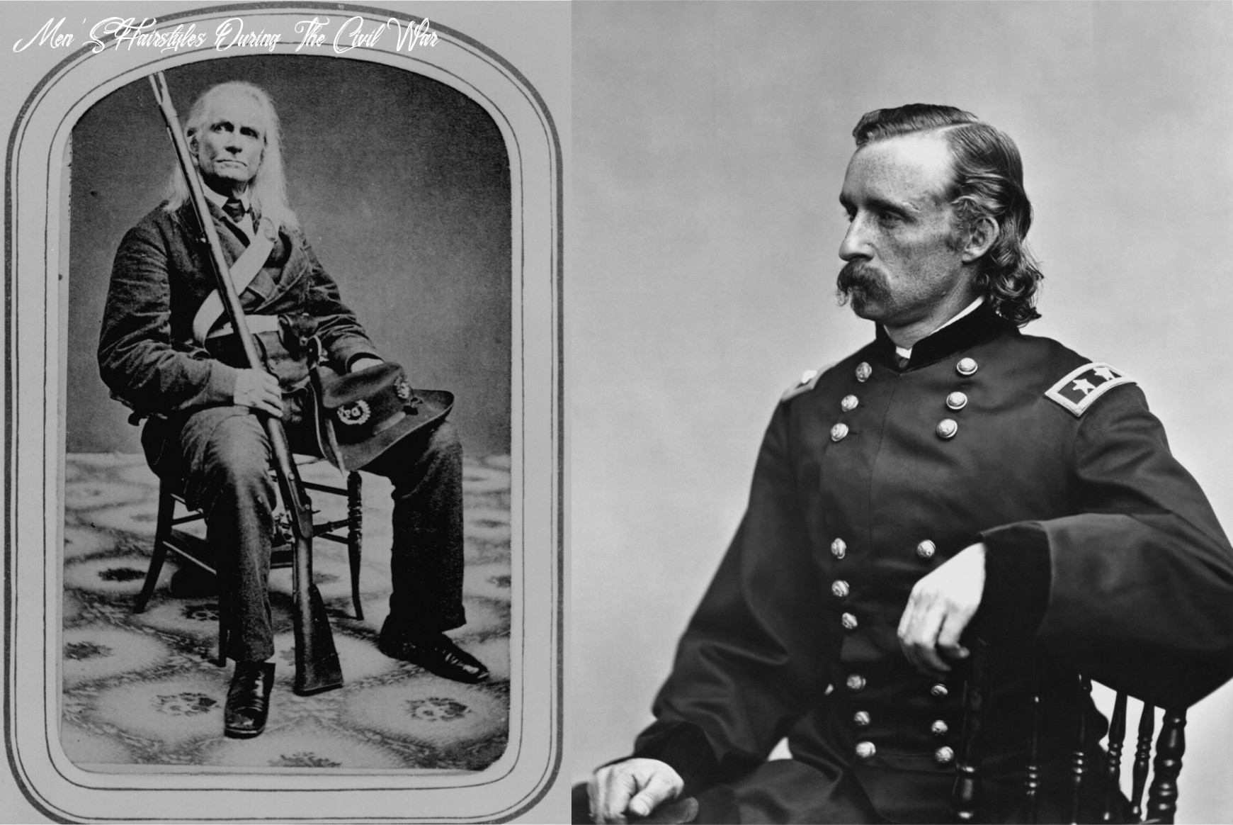 Civil war soldiers used hair dye to make themselves look better in