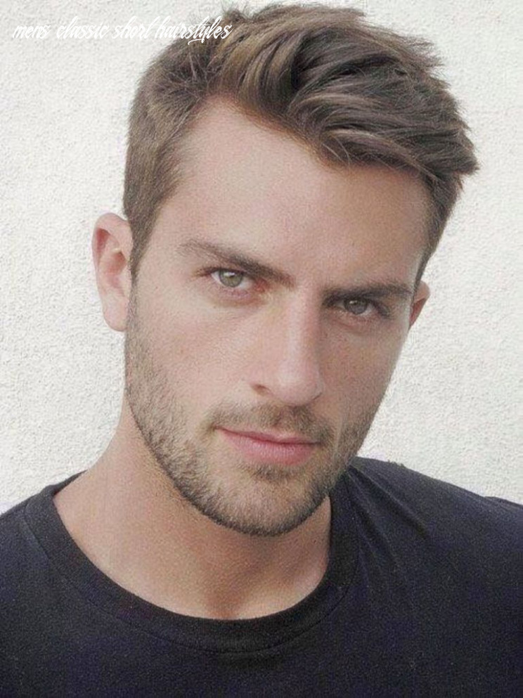 Classic short hairstyles for men 12   short hair lengths, thick