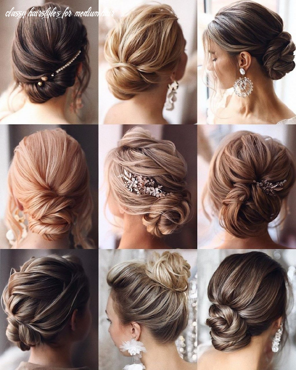 Classy and beautiful hairstyle collection picture | headpiece